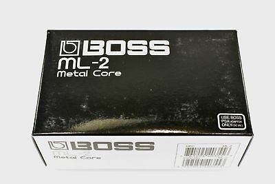 Boss ML-2 Metal Core Guitar Effect Pedal (CARDBOARD BOX ONLY) 6732