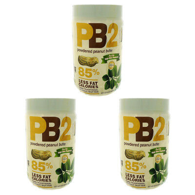 3X Bell Plantation Pb2 Powered Peanut Butter Natural Gluten Free Food Groceries