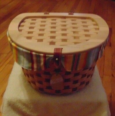 Longaberger 2006 Hostess Only Cherry Wood Bicycle Set~New~ Reduced Price~~