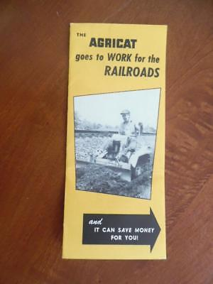 c.1951 AGRICAT Tractor Catalog Brochure Earl H Pence & Co San Leandro Vintage VG