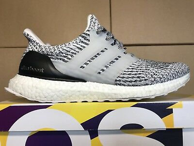 01f197163de Adidas Ultra Boost 3.0 Oreo Zebra Black White Ultraboost S80636 Men s size 9