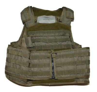 Paraclete Pre-MSA Smoke Green RMV Plate Carrier w/ Back Panel - LG - CAG SOF ACE