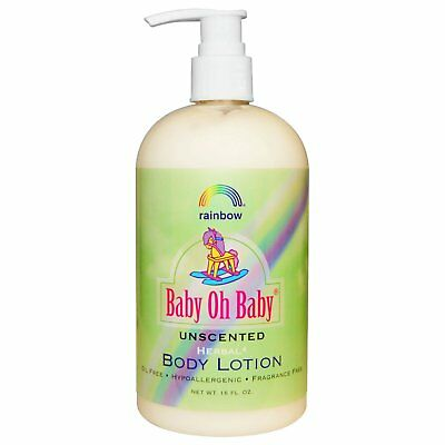 Rainbow Research Baby Oh Baby Body Lotion Unscented 16 fl oz Cruelty-Free,