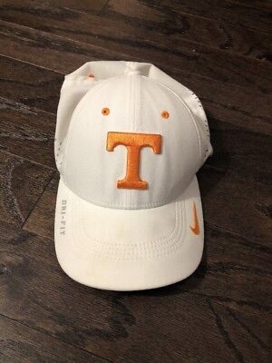 meet 2fea1 a1087 University Of Tennessee Volunteers White Nike Dri-fit Legacy 91 Fitted Hat  EUC