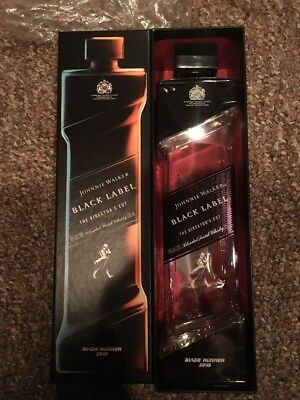 Johnnie Walker Black Label - Blade Runner 2049 - MINT CONDITION Bottle and Box