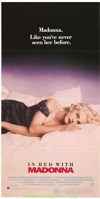 TRUTH OR DARE MOVIE POSTER Original Australian 13x26 aka IN BED WITH MADONNA