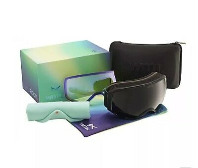 Anon WM1 Goggles, Black with Black Smoke/ Yellow low light lens's.BRAND NEW