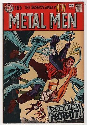 Metal Men #41 FN/VF 7.0 higher grade 1970 DC create-a-lot & save