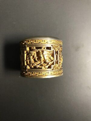 Chinese Antique Court Archery Ring
