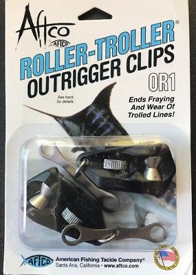 Outrigger Release Aftco Roller-Troller Clips