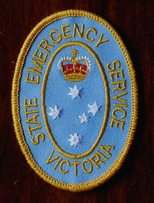 Victoria State Emergency Service .. Vintage Sew On Patch