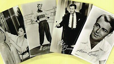 TAKKEN - 1950s Film/Music Star Postcards issued in Holland #AX3251 to #AX3383