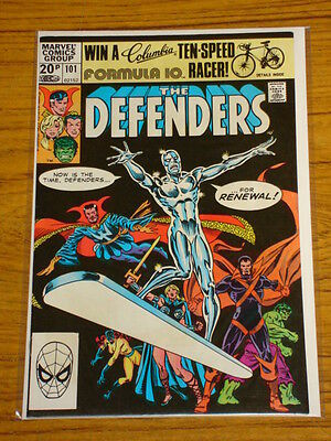 Defenders #101 Vol1 Marvel Comics Silver Surfer Apps November 1981