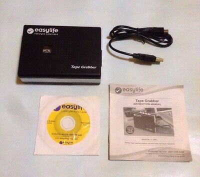 easylife Tape Player / Also Grabber Converts Cassettes to MP3
