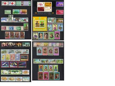 (297) Montserrat  Qeii Mostly Mh Collection Incl Sets