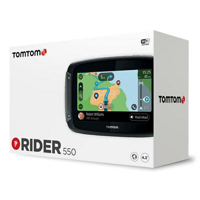 Tom Tom Rider 550 World Moto Motorcycle Motorbike GPS Satellite Navigation Kit