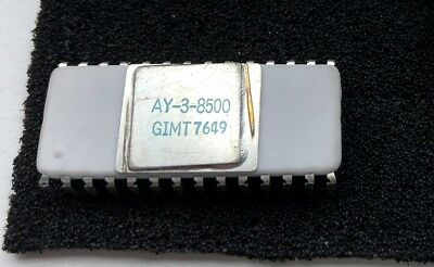 AY-3-8500 pong game chip (very rare ceramic version)