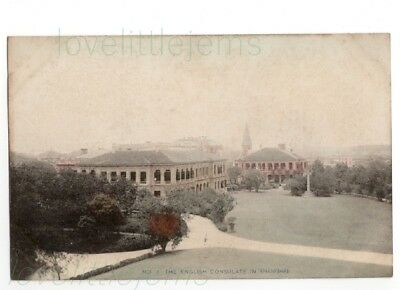 c1905 PPC The English Consulate in Shanghai No 6
