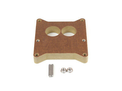 Canton 85-060 Phenolic Carburetor Adapter For Holley 2BBL And Holley 4BBL 1 Inch
