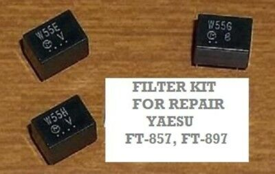 Filtersatz für Yaesu FT-857 FT-897 (Filter Reparatur) (Filters for repair)