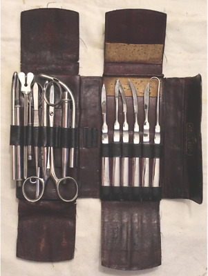 Vintage George C. Frye Surgical Kit - Excellent Condition - Looks Complete!!!