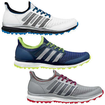 Adidas Mens Climacool Spikeless Golf Shoes - New Summer Lightweight Sports