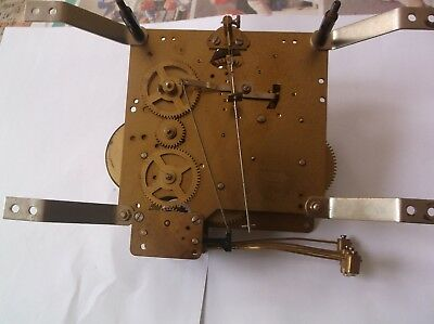 EMIL SCHMECKENBECHER 5 HAMMER 4X4 MECHANISM  FROM A WALL CLOCK working order