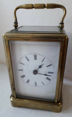 Very Rare Antique Mini Gorge Cased Carriage Clock for Repair