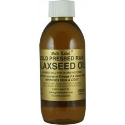 Gold Label Canine Flaxseed Oil x 250ml - Dog 250ml