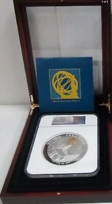 2015 GOLD KILO PERFECT China Panda Moon Festival Space Gold NGC PF70  SPACE GOLD