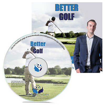 Become Better Golfer Hypnosis CD Lower Your Handicap Improve Your Swing and More