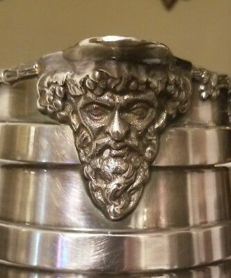 Fabulous Birks Rideau Plate Water Pitcher w Zeus and Grapes