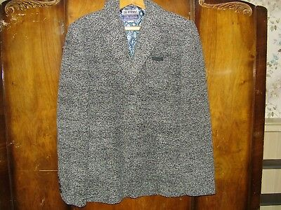 """Joe Brown's """"Outer Limits"""" Mottled Grey Wool Blend Man's Jacket Chest Size 48"""""""