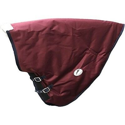 Jhl Essential Turnout Neck Cover Groß Bordeaux Und Marine