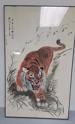 Japanese Tiger Paiting (24in X 39.5in)