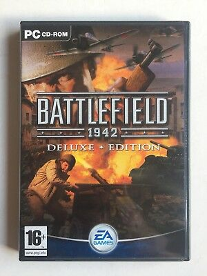 BATTLEFIELD 1942 DELUXE EDITION - Base Game + Road To Rome Add-On Expansion PC
