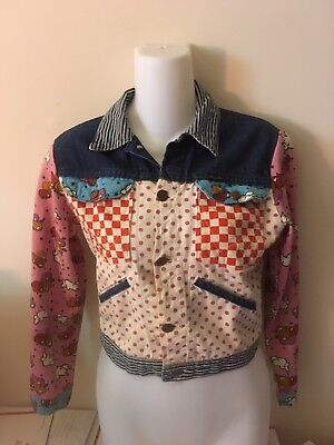 Peter Max Wrangler Jean Jacket  Vintage ladies Size 30 early 70's