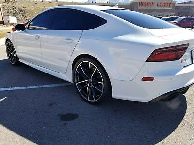 2017 Audi RS7 Performance 2017 Audi RS7 Performance. 141K Sticker. Custom Exhaust. Hard to find in white