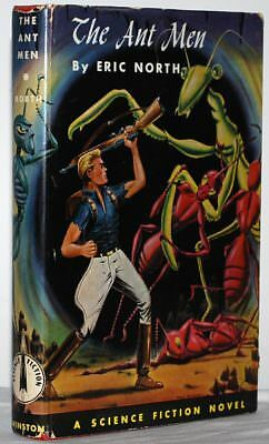 THE ANT MEN by Eric North. 1st ed./1st pr, 1955. A Winston Science Fiction Novel