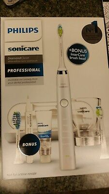 WHITE Philips Sonicare DiamondClean Toothbrush  PROFESSIONAL MODEL