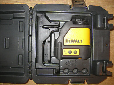 Dewalt Dw 088 Crossline Laser Level