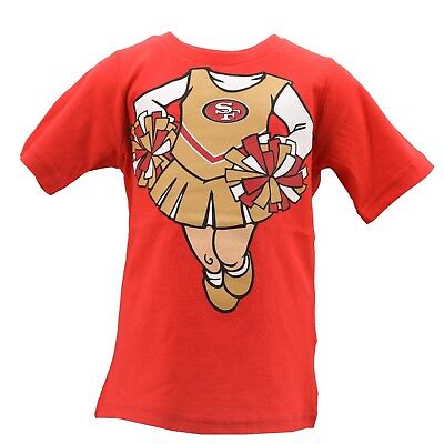 f834a6c3f San Francisco 49ers NFL Team Apparel Infant Toddler Girls Size T-Shirt New  Tags