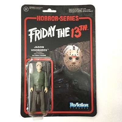 FRIDAY THE 13TH Jason Voorhees Fully Posable Action Figure Horror Gothic Funko