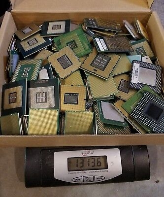 13lbs 13.6oz of Scrap Server Processors / CPU`s for Gold Recovery