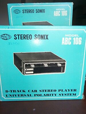 8 track player for classic cars