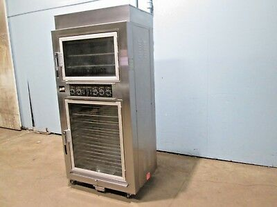 """NU-VU SUB-123"" HD COMMERCIAL (NSF) ELECTRIC 208V 3Ph OVEN/PROOFER ON CASTERS"