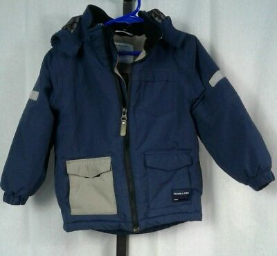 Polarn o pyret sweden jacket youth boys size 110 4-5 years navy