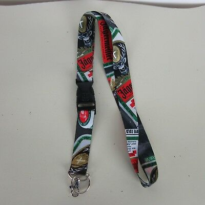 Jagermeister Keychain Lanyard Graphic Promotional Material Bar Beet Alcohol