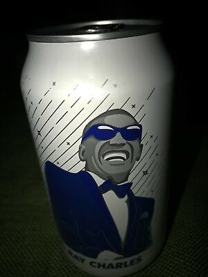 2018 Rare Collectible Ray Charles Regular Pepsi Can, Unopened