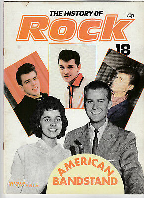 THE HISTORY OF ROCK Magazine Issue 18 - American Bandstand, Fabian, Bobby Darin